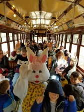 Easter Fun at the Connecticut Trolley Museum